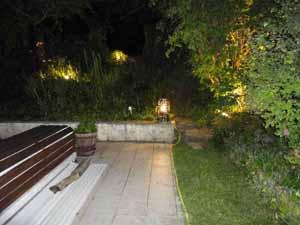 Réalisation d'un éclairage de jardin - Marthe sur Mauldre - Art eco électricité