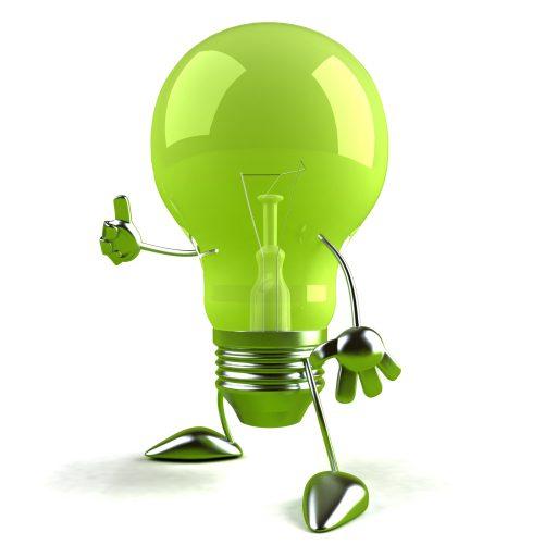 logo électricité ampoule art éco électricité